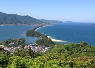 日本三景天橋立